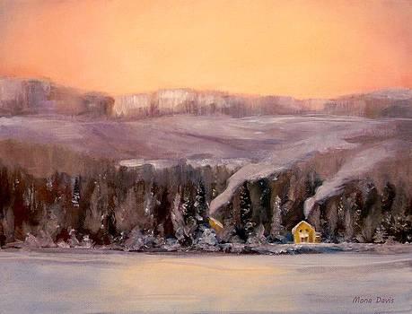 Winter Light by Mona Davis