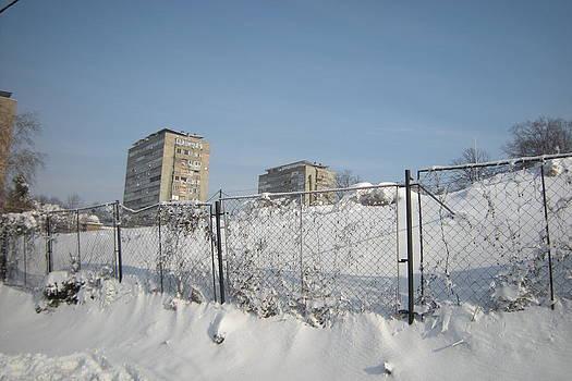 Winter Morning in Belgrade by Emilija Cerovic