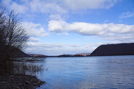 Winter River - The Susquehanna by Bridget Finn