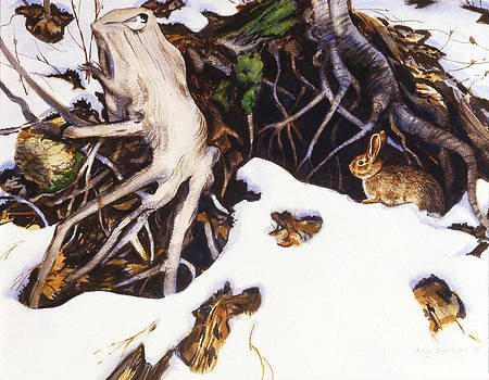 Winter Roots by Phil Hopkins