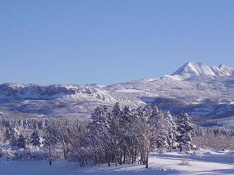 FeVa  Fotos - Winter Slopes Above Jackson Lake