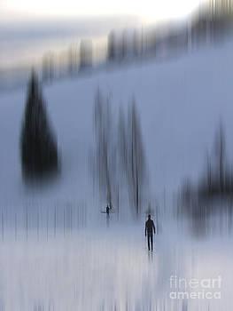 Winter Walk by Karin Ubeleis-Jones