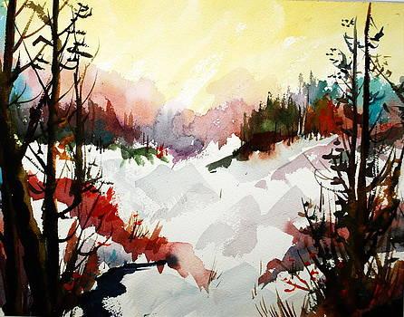 Winterlude in Muskoka by Wilfred McOstrich
