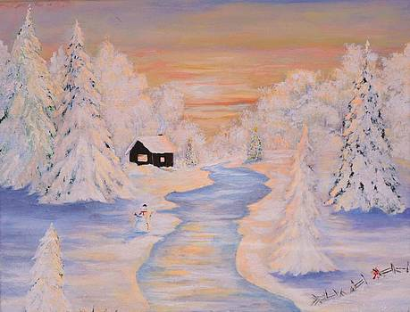 Winter's eve. by Anne Marie Spears