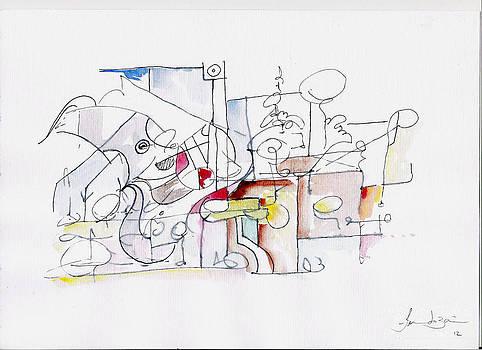 Wireframe is Reality by Fernando Bari