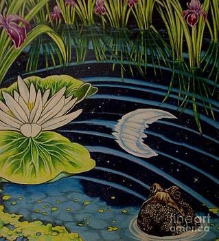 Wise Old Toad by Kimberlee  Ketterman Edgar
