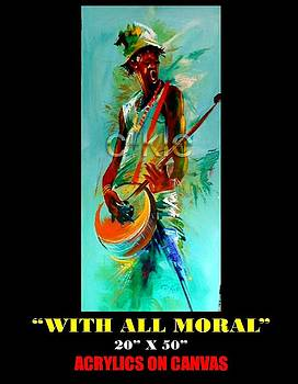 With All Moral by Clement Martey