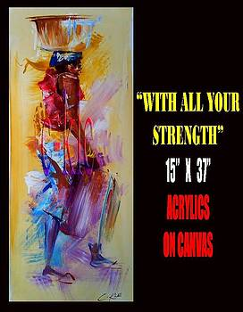 With All Your Strenght by Clement Martey