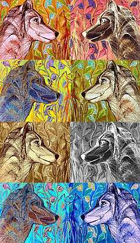 Wolf Views by Mary Schiros