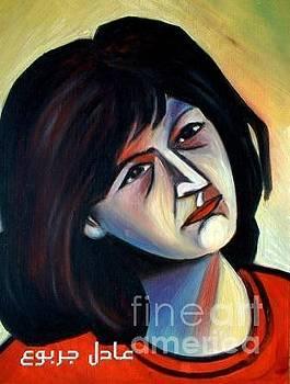 Woman - 4 by Adel Jarbou