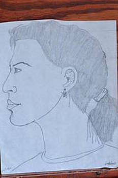 Woman In Profile by Will Conyers II