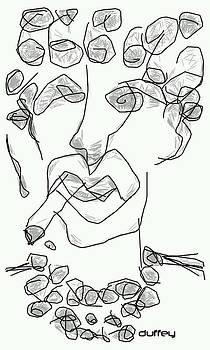 DOUG  DUFFEY - WOMAN SMOKING