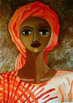 Madalena Lobao-Tello - Woman with turban