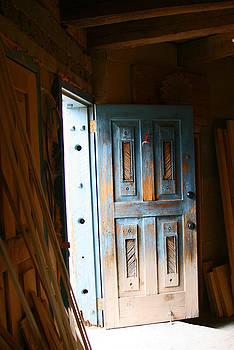 Elizabeth Rose - Wood Workers Door in Truchas New Mexico