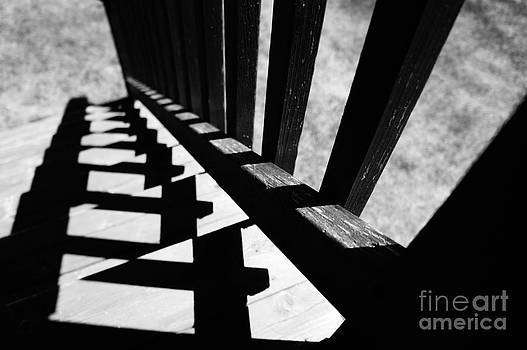 Wooden Stairs by Marie Jeon