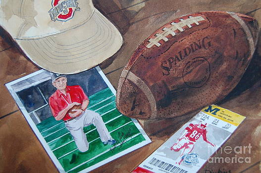 Woody Hayes by Bill Dinkins