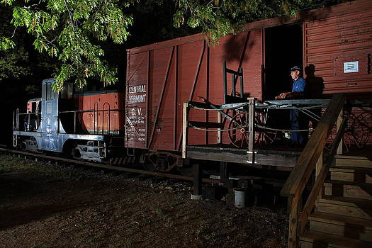 Working On The Railroad 2 by Frank Pietlock