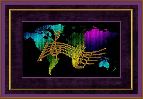 Daryl Macintyre - World Map Music