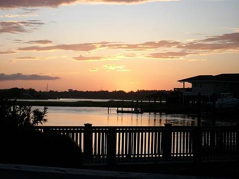 Wrightsville Beach NC intracoastal waterway by Marcus Hudson