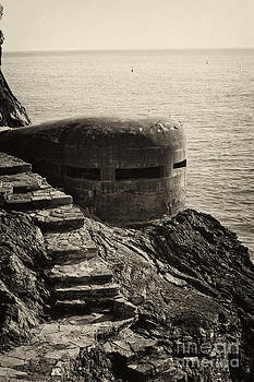WWII Pill Box by Leslie Leda