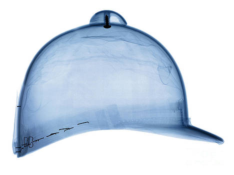 Ted Kinsman - X-ray Of Equestrian Helmet