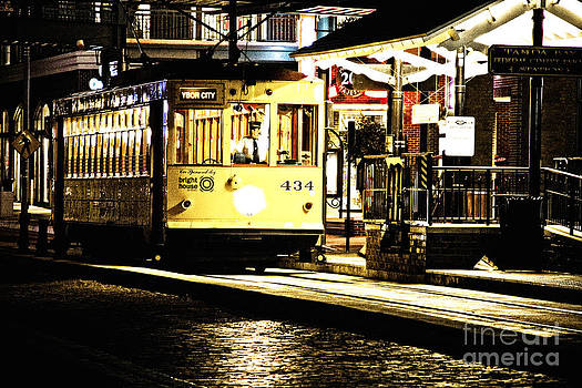 Ybor Train by Angelique Olin