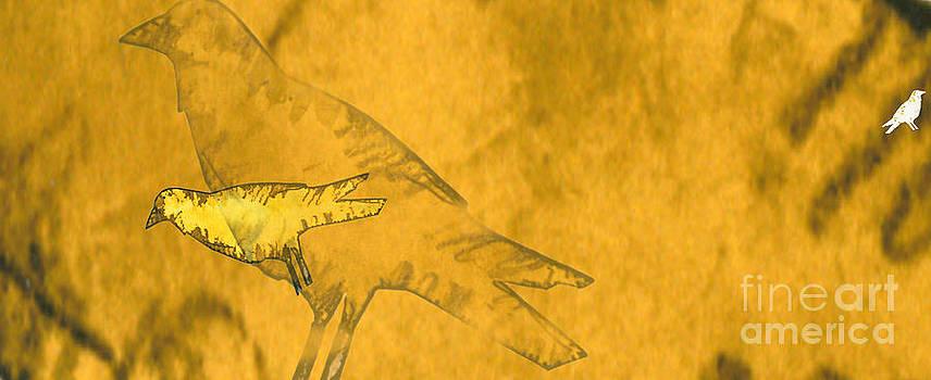 Yellow birds 1 by Jim Wright