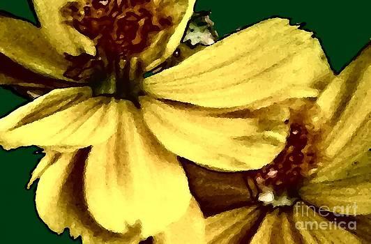 Yellow Petals by Charleen Treasures