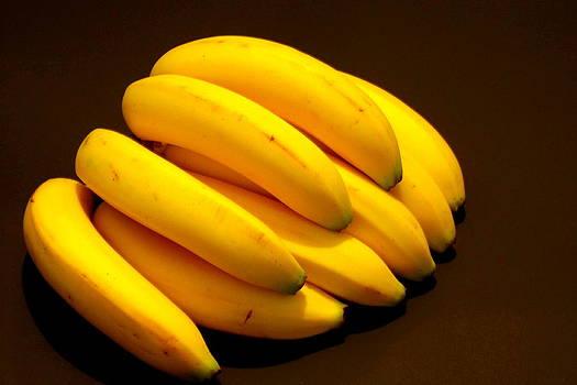 Yellow Ripe Bananas by Jose Lopez