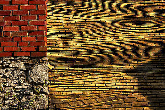 Yellow Roof by Matt  Trimble
