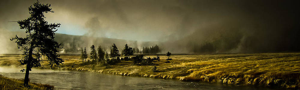 Yellowstone Mist by Peggie Strachan
