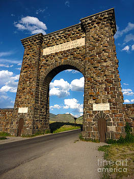 Gregory Dyer - Yellowstone National Park Gate
