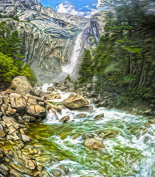 Gregory Dyer - Yosemite - Angel Falls - 01