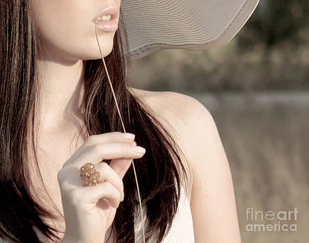 Young beautiful woman by Iryna Shpulak