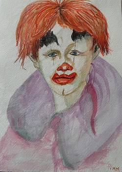 Young Clown by Betty Pimm