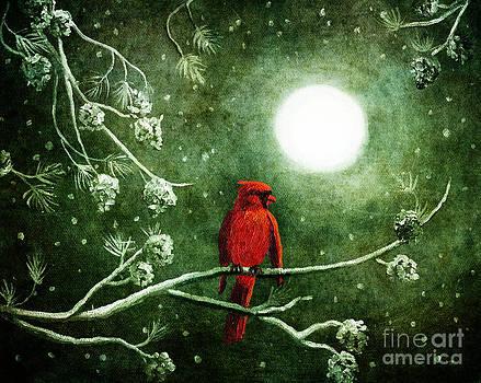 Laura Iverson - Yuletide Cardinal
