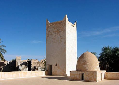Yunès Mosque, Ghadamès, Libya by Joe & Clair Carnegie / Libyan Soup