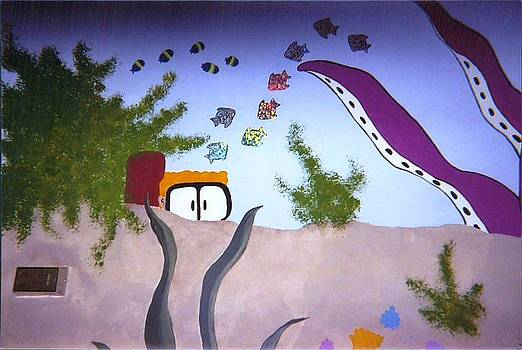 Anna Villarreal Garbis - YWCA Mural II