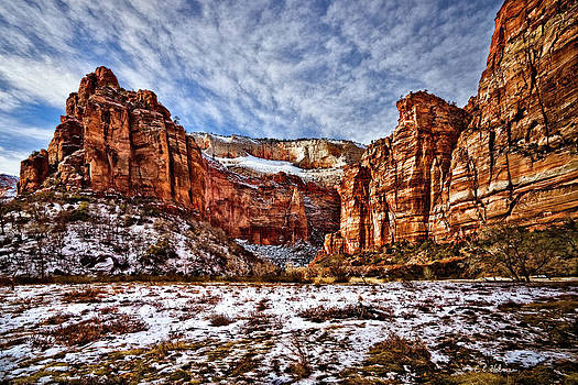 Christopher Holmes - Zion Canyon In Utah
