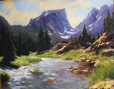 Hallet Peak by William Martin