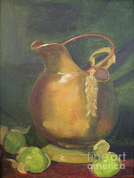 Brass and Tomatillos by Lilibeth Andre