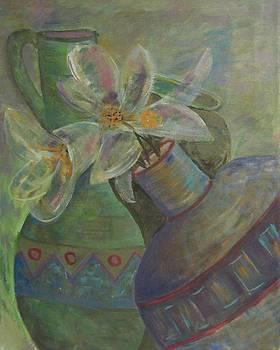 Flower Pots by Susan  McNeil
