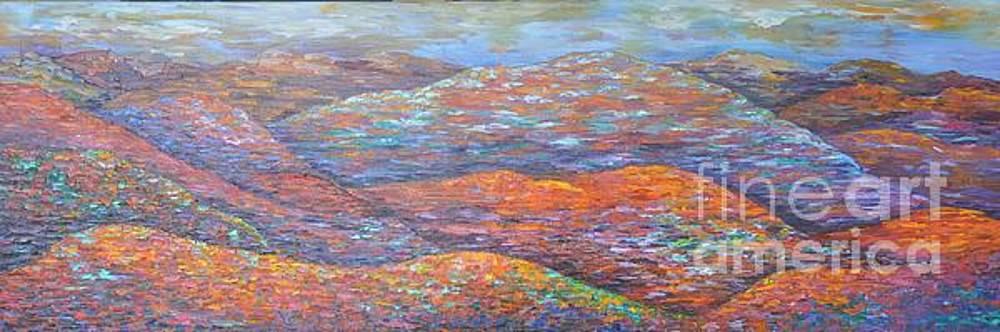 Hillside in Autumn by Sloane Keats