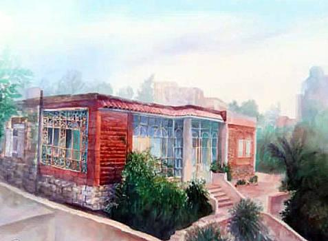 House From Amman by Ahmad Subaih
