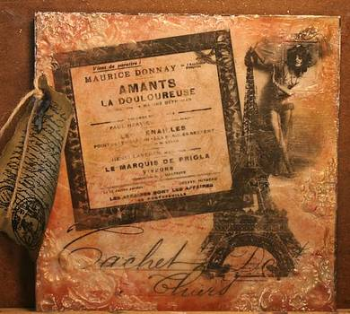 Paris Red by Theresa Higby