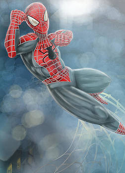 Spiderman by Quinetta Middlebrooks