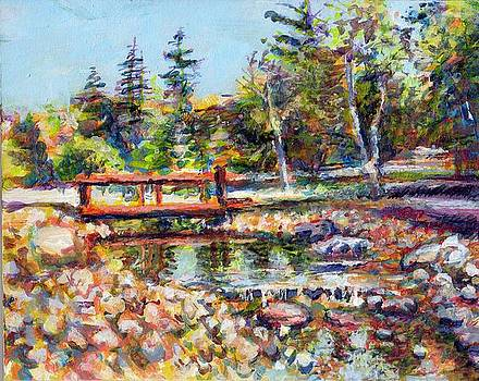 Study for Bridge over Wellington by Michael Gaudet