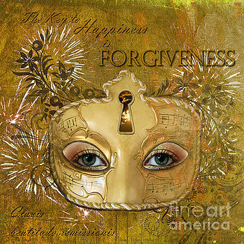 The key to happiness is forgiveness by Pia Vang