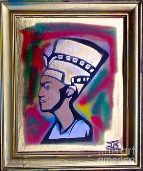 AFRO ART Kemetic Ruler by Tony B Conscious