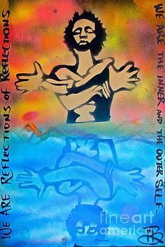 Afro Art Reflection by Tony B Conscious